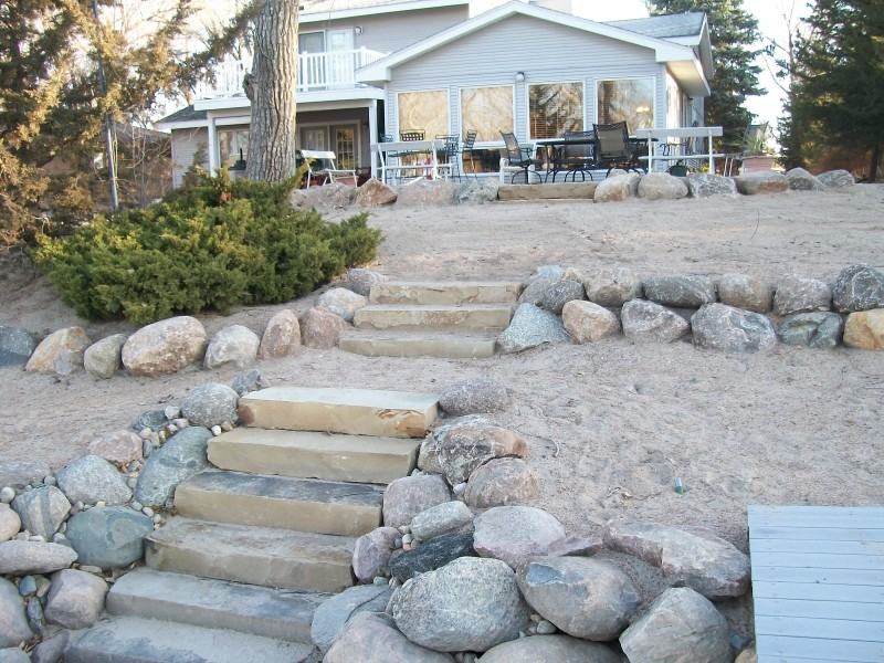 Stone Steps and Installation