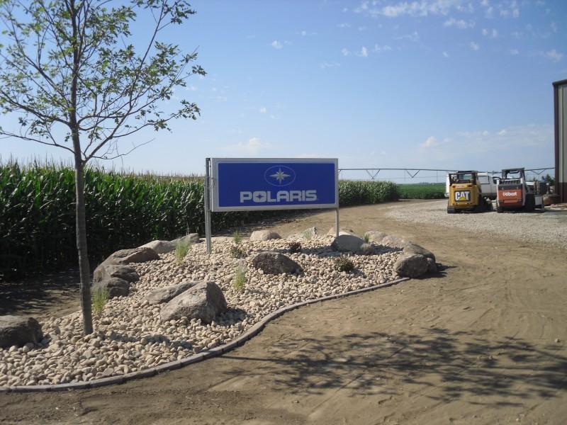 Polaris rockbed installation